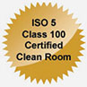 DataTech ISO 5 Class 100 Certified Clean Room